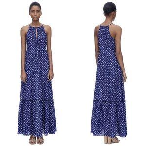 Rebecca Taylor Printed Maxi Dress